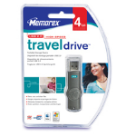 Memorex TravelDrive 4GB USB flash drive