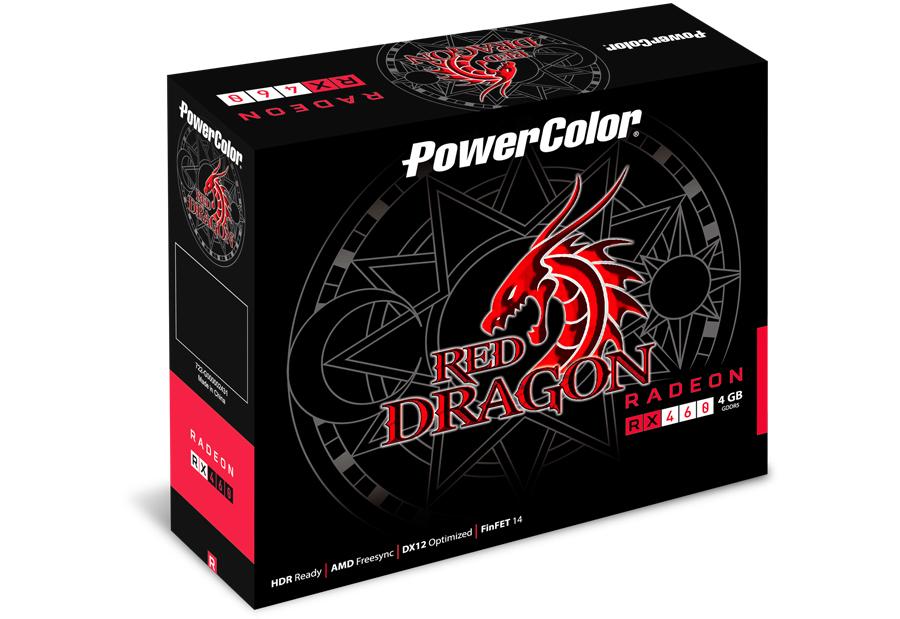 PowerColor AXRX 460 2GBD5-DH/OC graphics card