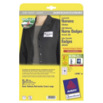 Avery L4786-20 Paper 200pc(s) identity badge/badge holder