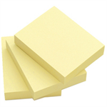 Q-CONNECT Q CONNECT QUICK STICKY NOTE 51X76MM YLW