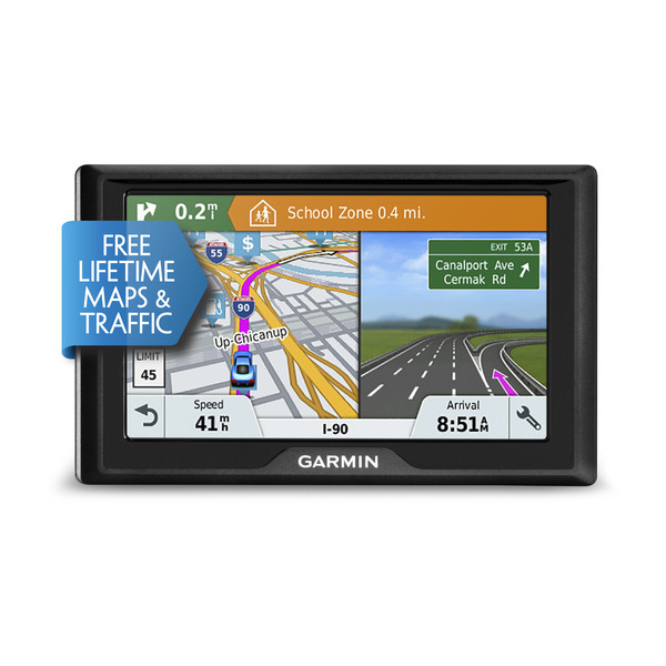 Garmin Drive 51 LMT-S Car GPS Western EU