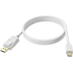 Vision TC 2MMDPDP cable DisplayPort 2 m Mini DisplayPort Blanco