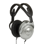 Koss UR18 Black,Silver Circumaural Head-band headphone