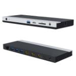 4XEM 4XUMD02 notebook dock/port replicator Wired USB 3.2 Gen 1 (3.1 Gen 1) Type-C Black