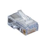 Black Box C5EEZUP wire connector EZ-RJ45 Transparent
