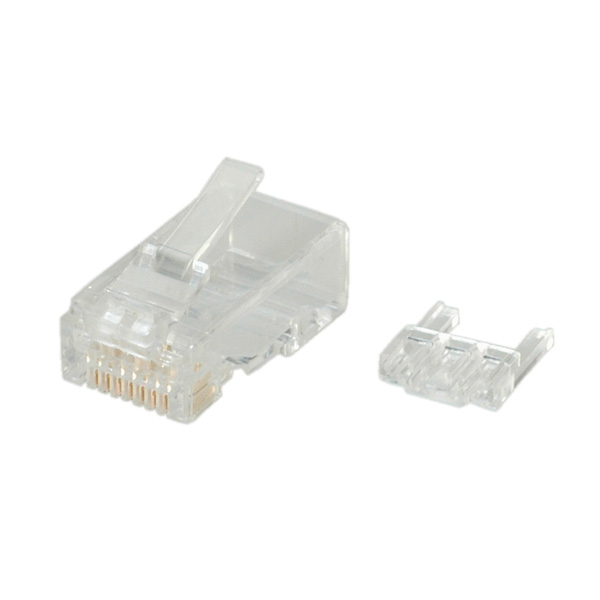 UTP Modular Plug. Cat6. Solid. 10pcs