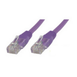 Microconnect 2m Cat6 2m Cat6 F/UTP (FTP) Purple networking cable
