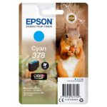 Epson Squirrel Singlepack Cyan 378 Claria Photo HD Ink