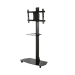 B-Tech Flat Screen Display Trolley with Glass Base