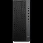 HP EliteDesk 800 G4 i7-8700 Tower 8th gen Intel® Core™ i7 8 GB DDR4-SDRAM 1000 GB HDD Windows 10 Pro Workstation Black, Grey