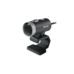 Microsoft LifeCam Cinema Webcam 1 MP 1280 x 720 Pixel USB 2.0 Schwarz, Silber