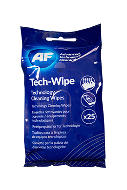 AF MOBILE TECHNOLOGY 25 WIPES FLATPACK