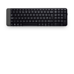 Logitech K230 keyboard RF Wireless QWERTY International EER Black