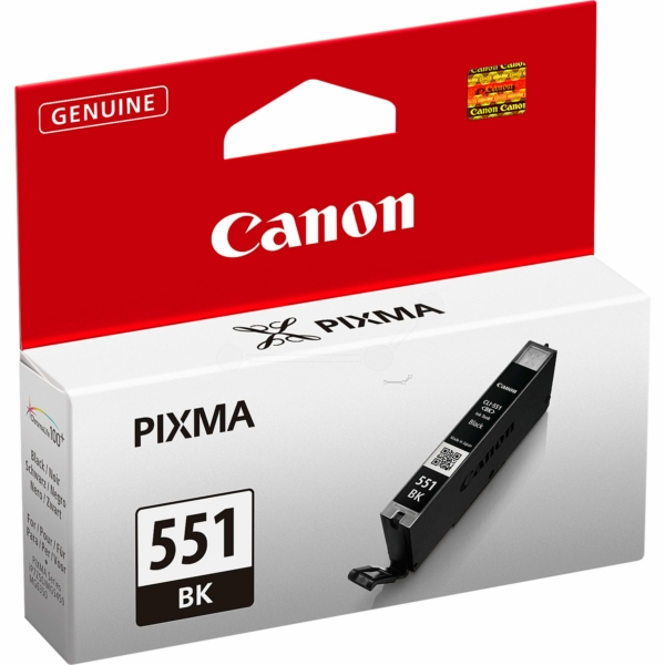 Canon 6508B001 (551 BK) Ink cartridge black, 350 pages, 7ml