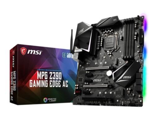 MSI MPG Z390 GAMING EDGE AC motherboard Intel Z390 LGA 1151 (Socket H4) ATX