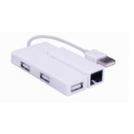 Microconnect USB2.0 to Ethernet + 3 hub