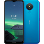 "Nokia 1.4 16,5 cm (6.5"") Dual SIM Android Q Go edition 4G Micro-USB 2 GB 32 GB 4000 mAh Blauw"