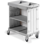 FSMISC MAID SERVICE TROLLEY 900 GREY 381651650