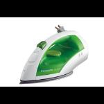 Panasonic NIE250TR iron Dry & Steam iron Stainless steel soleplate Green,White 1200 W