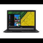 "Acer Aspire 5 A517-51GP-88NX Black Notebook 43.9 cm (17.3"") 1920 x 1080 pixels 8th gen Intel® Core™ i7 i7-8550U 8 GB DDR4-SDRAM 1512 GB HDD+SSD"