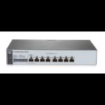 Hewlett Packard Enterprise OfficeConnect 1820 8G Managed L2 Gigabit Ethernet (10/100/1000) 1U Grey