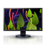 Eizo EV2316WFS-BK 23 Inch LED Monitor, 1920 x 1080, Black Bezel, 2 x 1W Built-In Speakers, Height Adjustable, 5 Year Warranty