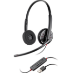 Plantronics Blackwire C320 Binaural Head-band Black headset