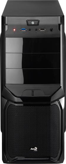 Aerocool V3X Advance Midi-Tower Black computer case
