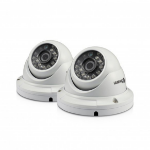 Swann SWPRO-H856PK2 CCTV security camera Indoor & outdoor Dome White