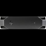 HP Z2 Mini G4 W-2104 mini PC Intel Xeon E 16 GB DDR4-SDRAM 512 GB SSD Windows 10 Pro Workstation Black