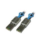 Lindy SAS/SATA II Multilane Infiniband Cable, 0.5m SATA cable Black