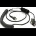 Zebra CBA-R31-C09ZAR cable de serie Negro 2,8 m