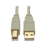 """Tripp Lite U022-006-BE USB cable 70.9"""" (1.8 m) USB A USB B Beige"""