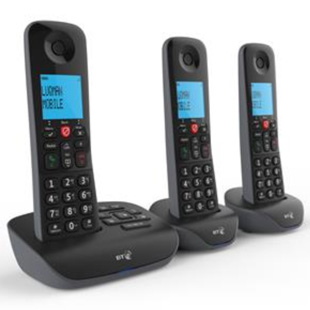 British Telecom Essential DECT Phone - Trio (TAM)