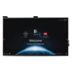"""Viewsonic IFP8670 touch screen monitor 86"""" 3840 x 2160 pixels Black Multi-touch Multi-user"""