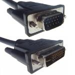 CONNEkT Gear 26-1666 video cable adapter 2 m VGA (D-Sub) DVI-I Black