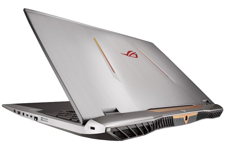 "ASUS ROG G701VI-BA007T 2.7GHz i7-6820HK 17.3"" 1920 x 1080pixels Grey Notebook"