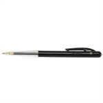 BIC M10 Clic Medium Clip-on retractable ballpoint pen Medium Black 50pc(s)