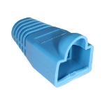 Cablenet RJ45 Bubble Boot Blue 6mm