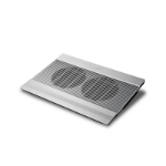 "DeepCool N8 ULTRA 17"" 1200RPM Silver notebook cooling pad"