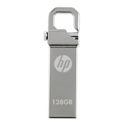 PNY HP v250w 128GB 128GB USB 2.0 Type-A Stainess steel USB flash drive