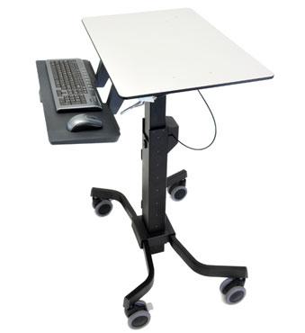 Ergotron TeachWell Mobile Digital Workspace Graphite, Grey Multimedia cart