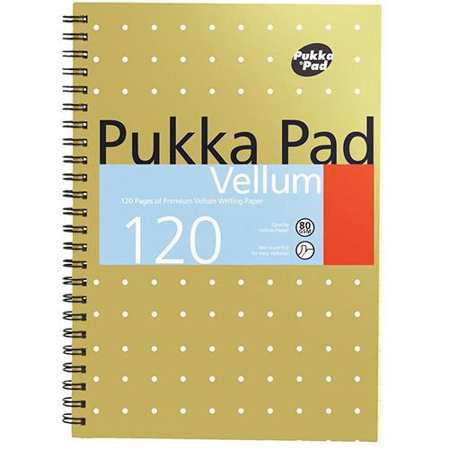 Pukka Pukka Pad A5 Vellum Pad Wirebound 120 pages PK3