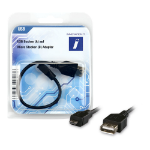 Innovation IT 2A 602031 PHONE USB cable USB A Micro-USB A Black