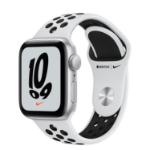 Apple Watch SE Nike 40 mm OLED Silver GPS (satellite)
