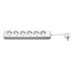 Microconnect GRU0063WA power extension 6 AC outlet(s) White