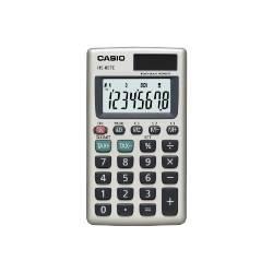 Casio HS-85TE calculator Pocket Basic Silver