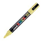 Uni Posca PC-5M Marker Medium Yellow PK1