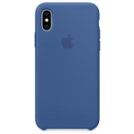 "Apple MVF12ZM/A?ES funda para teléfono móvil 14,7 cm (5.8"") Funda blanda Azul"