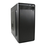 LC-Power LC-2010MB-ON computer case Tower Black